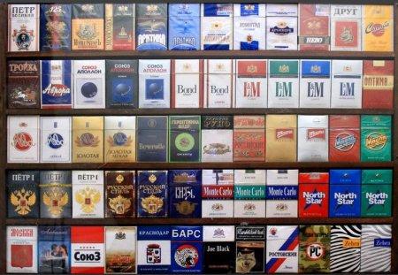 Импортные сигареты всегда пользуются спросом у любителей.