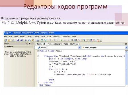 Текстовые редакторы для создания сайта html