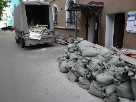 Вывоз и вынос строительного мусора от компании